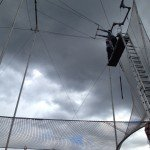OMG! To Do List Rupert did flying trapeze today! 8