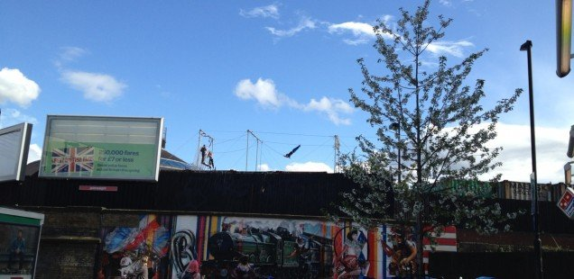 OMG! To Do List Rupert did flying trapeze today!