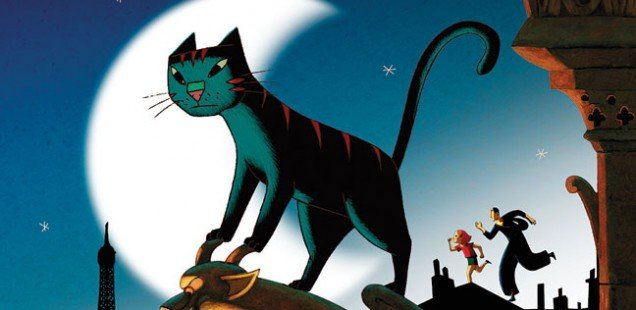 A Cat in Paris - Tomorrow (Thurs) at 11am at Hackney Picturehouse