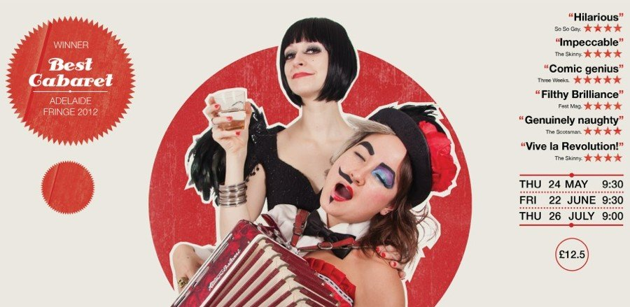 Eastend Cabaret Sexy Songs for Sexy Peeps - Free ticket giveaway!