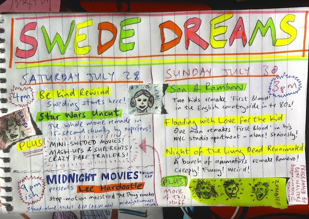 Swede Dreams - lo-fi remake festival at Roxy Bar & Screen 3