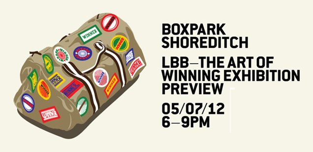 The Art of Winning - Tonight! - FREE exhibition preview, live music & drink at Boxpark