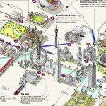 Olympic Venues Map Courtesy of LondonTown.com