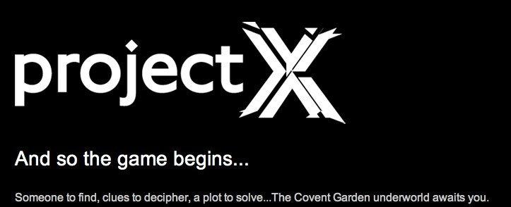 Project X, London - SHHHH!