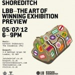 The Art of Winning - Tonight! - FREE exhibition preview, live music & drink at Boxpark 2