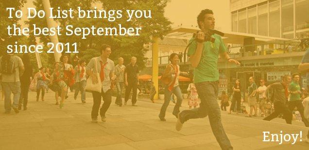 September To Do List