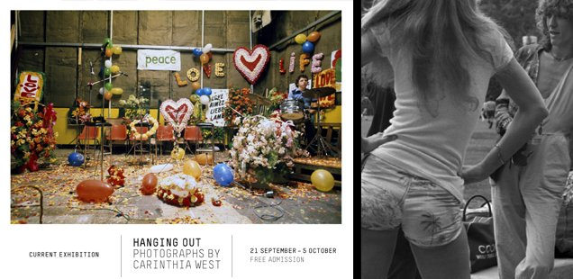 Hanging Out – 1970s Fame Photography at the Library Space - Free Entry
