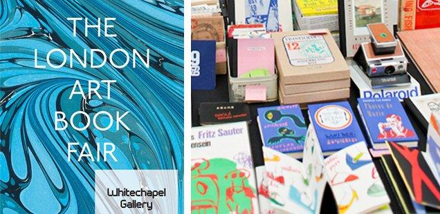 The London Art Book Fair - Starts 20th Sept at 6pm