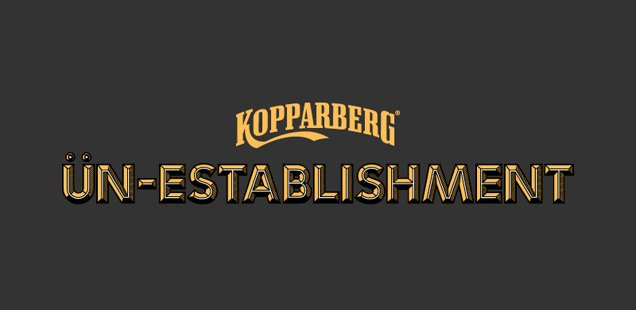 Kopparberg Presents: ün-establishment - FREE workshops, exhibitions, screenings and talks
