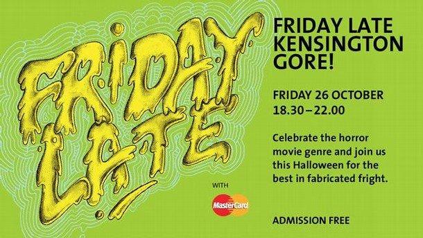 V&A Lates: Kensington Gore - Tonight Free Halloween Extravaganza w/ Amy Grimehouse 2