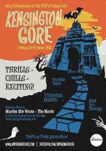 V&A Lates: Kensington Gore - Tonight Free Halloween Extravaganza w/ Amy Grimehouse 1