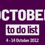 London To Do List - 4-14 October 2012