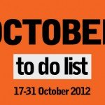 London To Do List - 17-31 October