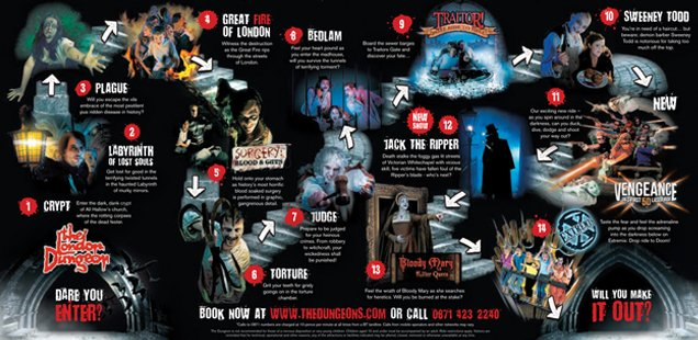 RIP London Dungeon at London Bridge - Book the new dungeon now with 30% off