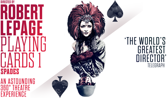Robert Lepage Playing Cards 1: Spades