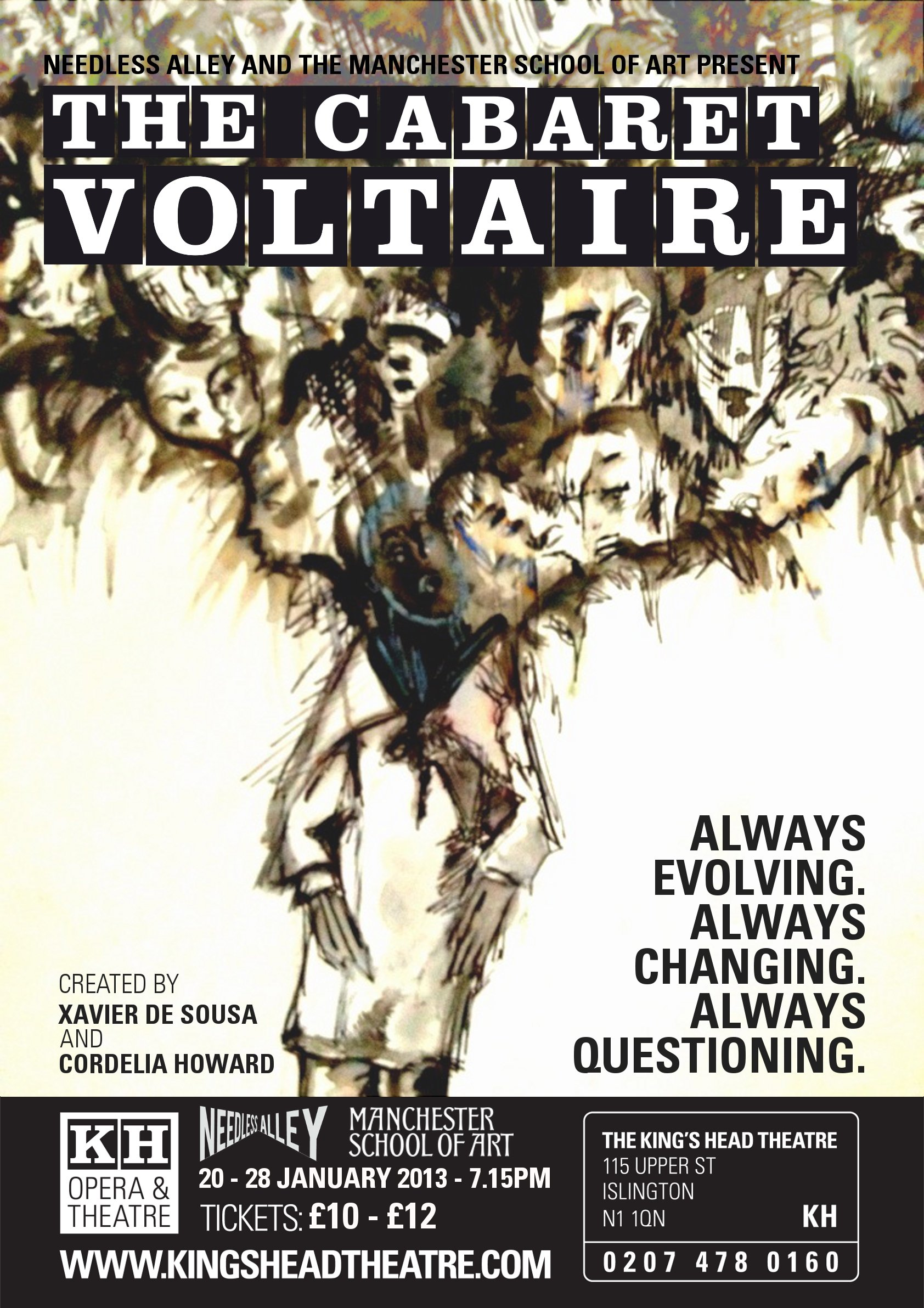 CABARET VOLTAIRE POSTER (1)