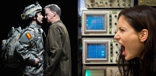 ★★★★★ In The Beginning Was The End // ★★★★ Playing Cards: Spades by Robert Lepage