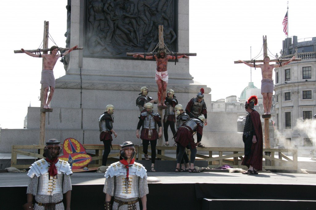 the passion of christ trafalgar square