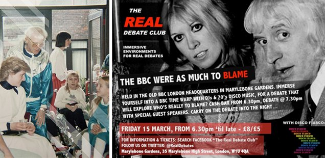 The Real Debate Club - tonight at Marylebone Gardens