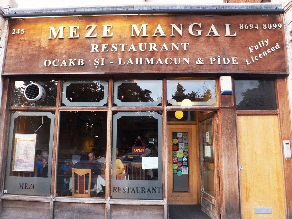 meze mangal