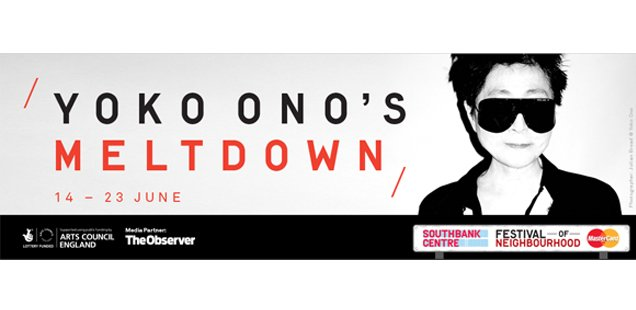 Yoko Ono announces line up for Meltdown at Southbank Centre