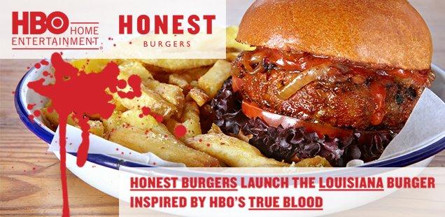 New Food in London - True Blood Burger