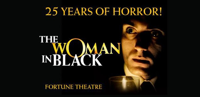 Woman in Black Celebrates 25 Years with free meal, ghost tour & live medium