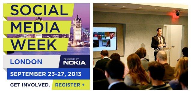 Social Media Week - London To Do List 23-29 September