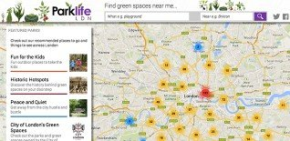 'Parks in your Pocket' – Free Mobile London Park Map
