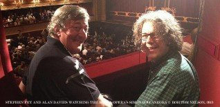 Watch For Free! Stephen Fry & Alan Davies on The Science of Opera at the Royal Opera House
