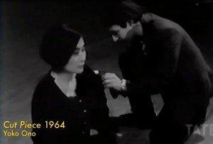 Cut Piece - Yoko Ono (1964)