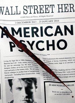 Matt Smith American Psycho