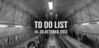 London To Do List – 14-20 October