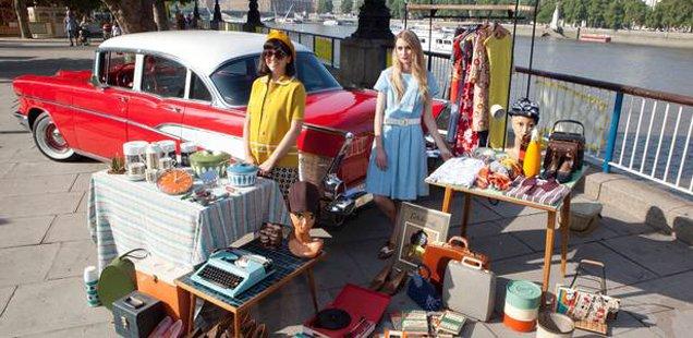 Vintage Car Boot Sale