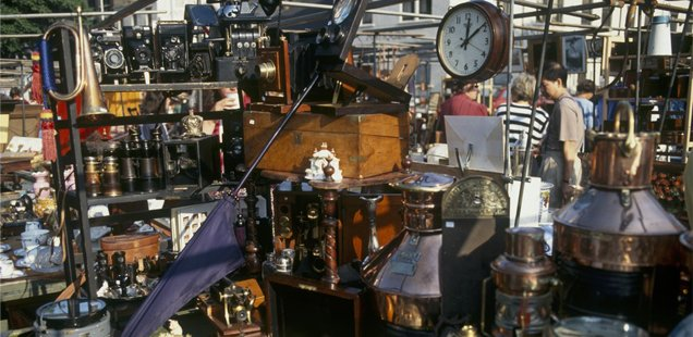 Bermondsey Square Antique Market