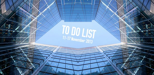 London To Do List - 11-17 November