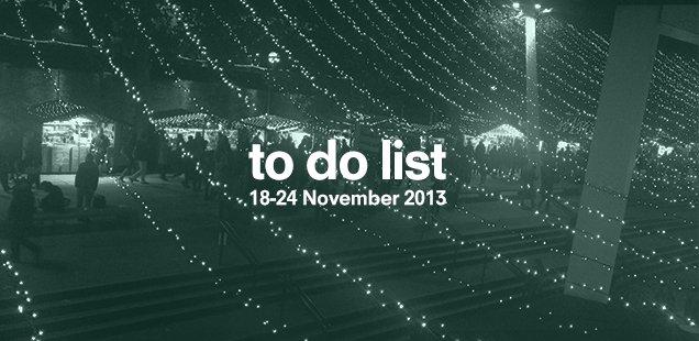 London To Do List – 18-24 November
