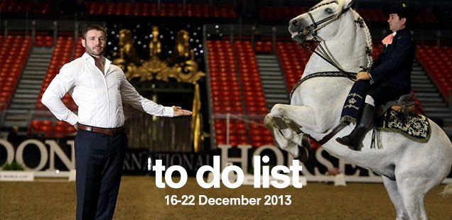 London To Do List – 16-22 December