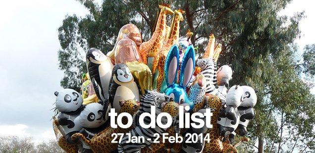 London To Do List - January 27 - February 2