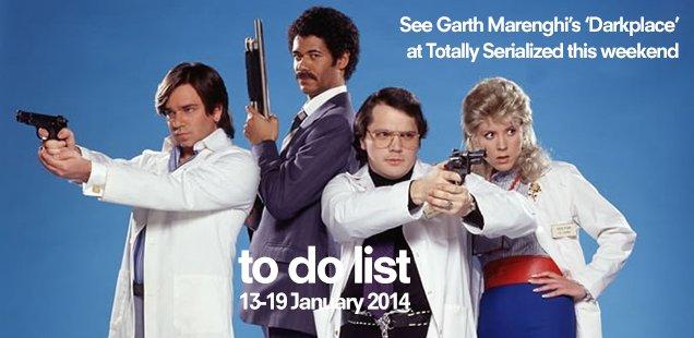 London To Do List – 13-19 January