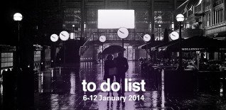 London To Do List – 6-12 January
