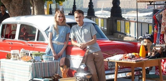 Classic Car Boot Sale at Southbank Centre