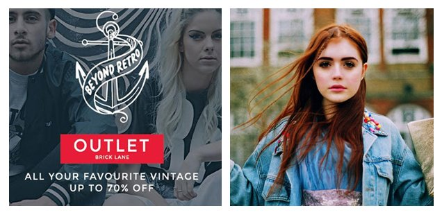Up to 70% off vintage at Beyond Retro Outlet