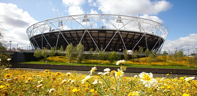 Enjoy The Sunshine at the Queen Elizabeth Olympic Park