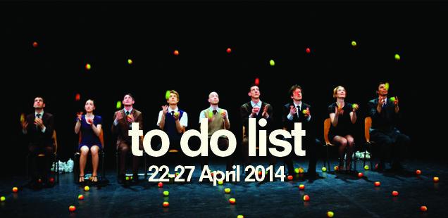 London To Do List – 22-27 April