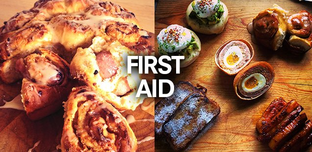 Treat yourself with Andy Bates's First Aid Rescue Brunch