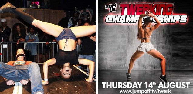 UK Twerking Championships Tonight in London
