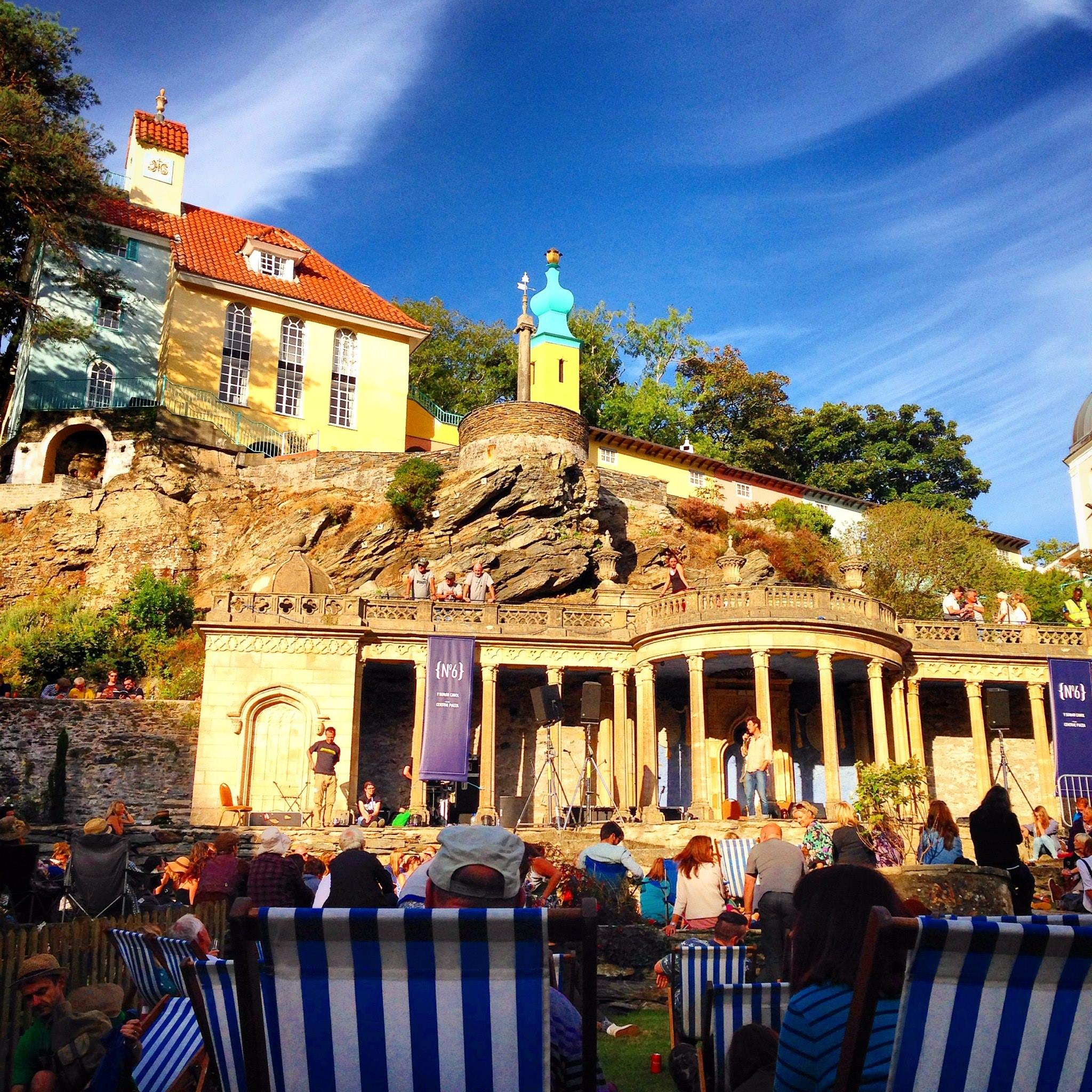 The Central Piazza, Portmeirion