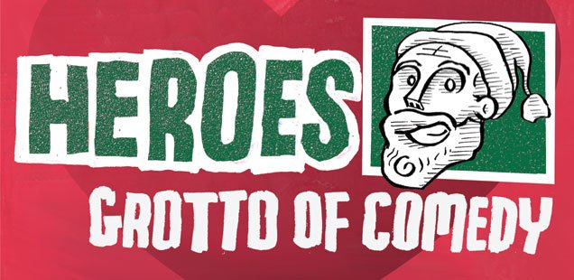 Heroes Grotto of Comedy - Festive Fringe Pop-Up