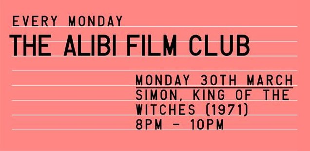 Alibi Film Club | Unusual Things To Do in London, 30 March - 5 April